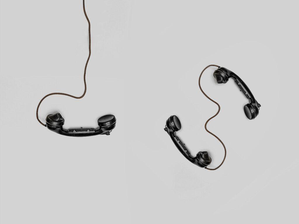 Hilfe am Telefon